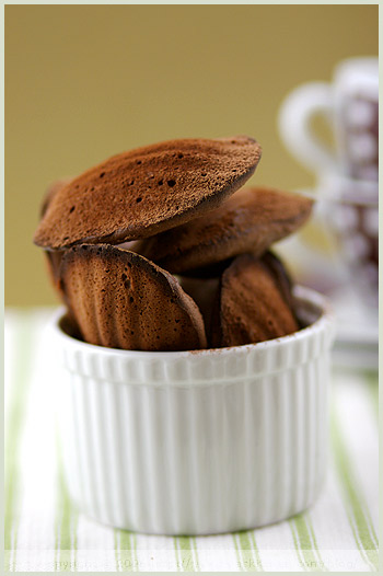 chocolate madeleine