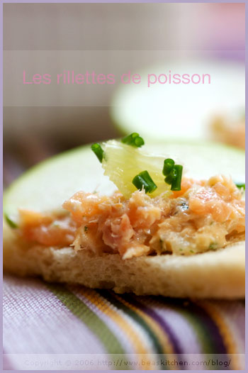 salmon rillettes