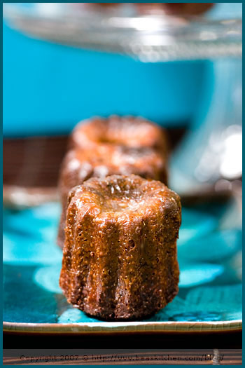 chocolate canelé cannelé