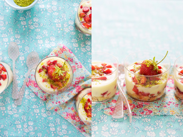 strawberry verrine